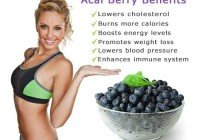 ACAI BERRY Weight Loss Detox Colon Cleanse