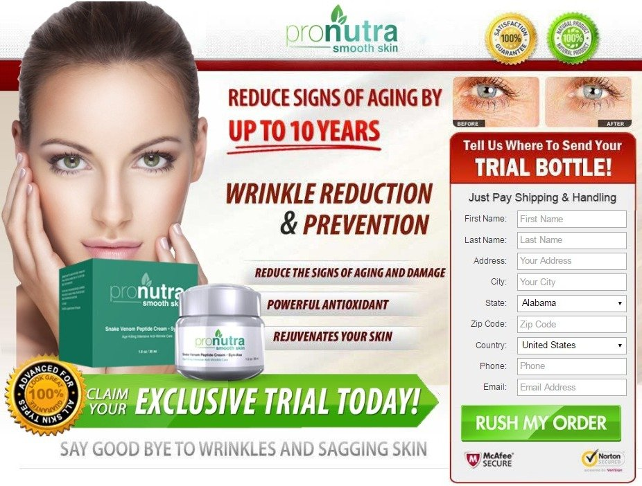 pronutra smooth skin