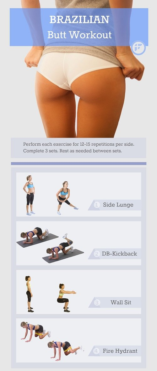 buttock exercise